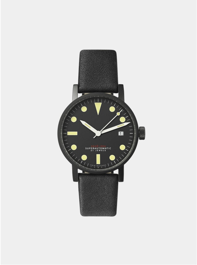 Black / Black V03M Watch