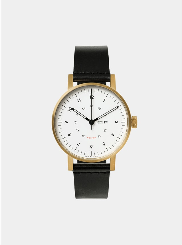 Black / Gold V03W-365 Watch