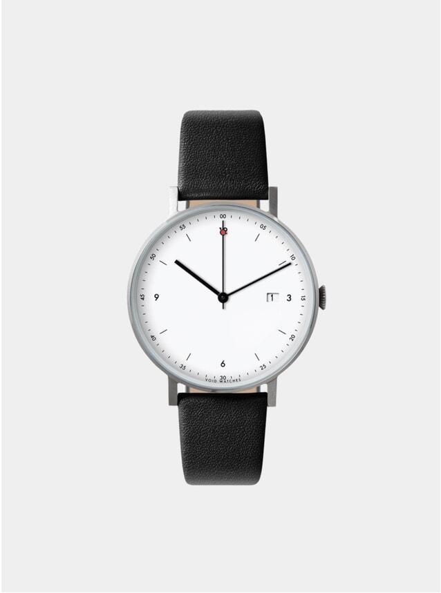 Black / White PKG01 Watch