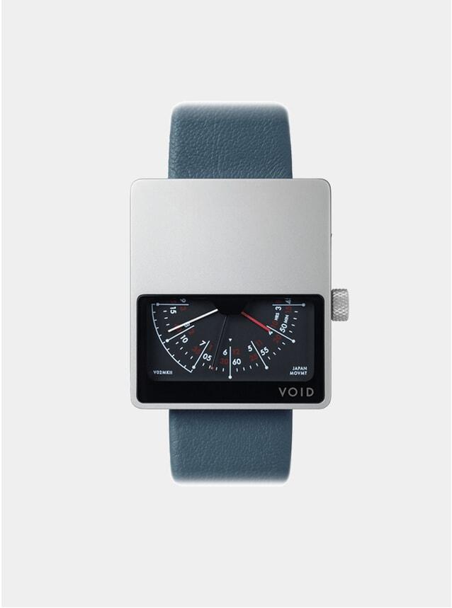 Blue / Silver V02MK11 Watch