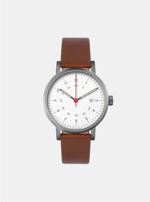 Brown / Silver V03D Watch