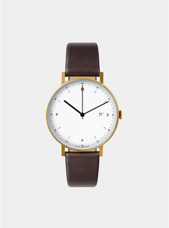 Dark Brown / Gold PKG01 Watch