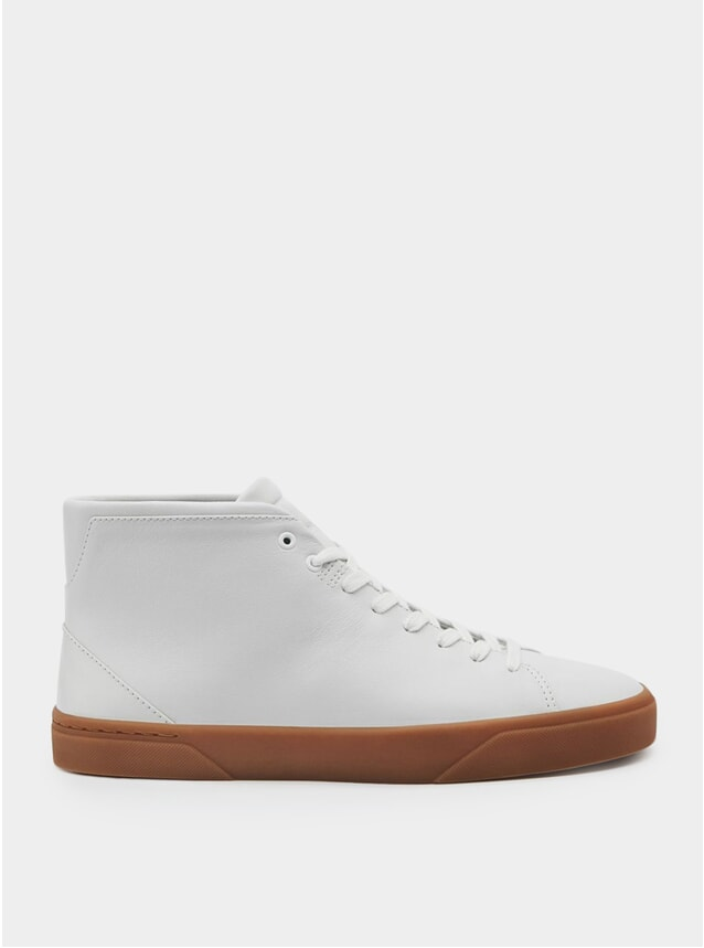 1B White / Rubber  Sneakers