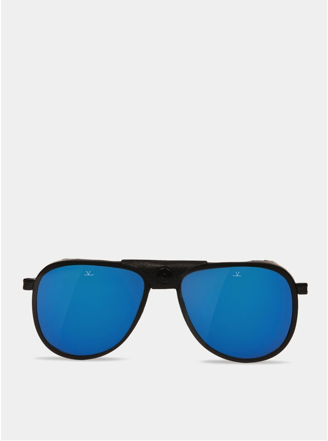 Blue / Black Glacier 1957 Sunglasses