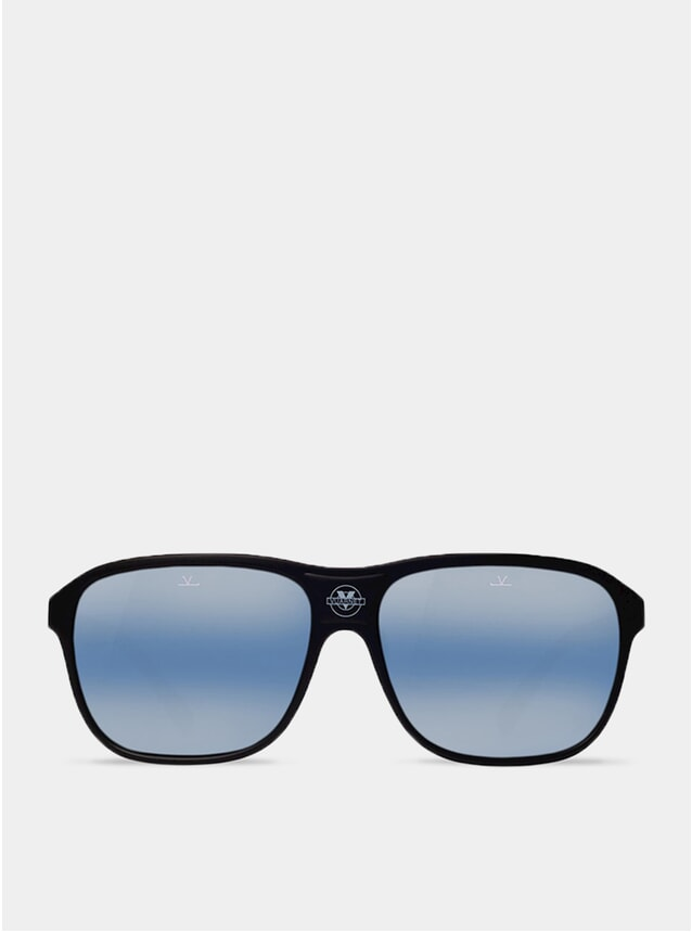 Blue Polarlynx / Black The Dude Sunglasses