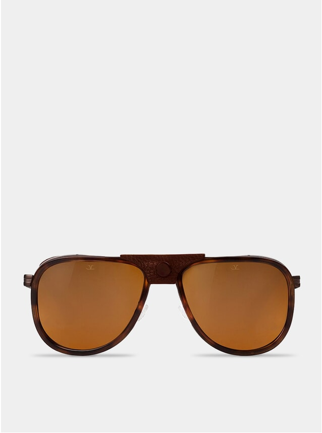 Brown Polar / Tortoise Glacier Sunglasses