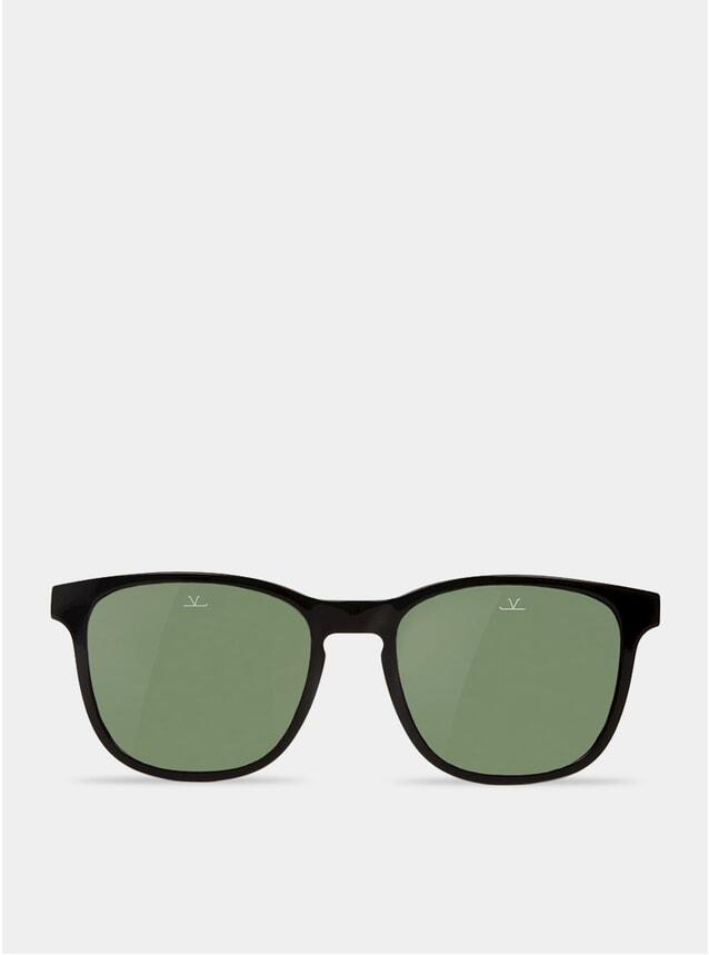 Grey / Black Square District Sunglasses
