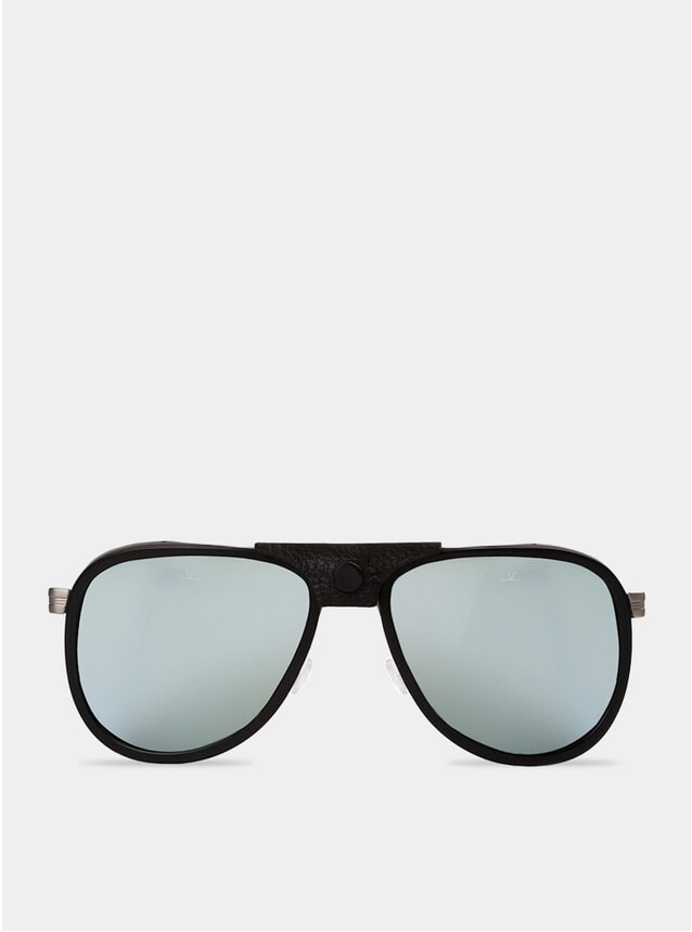 Grey / Silver Glacier Sunglasses