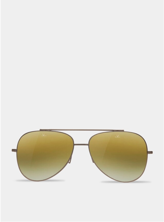 Skilynx / Matt Gunmetal Pilot Swing Sunglasses