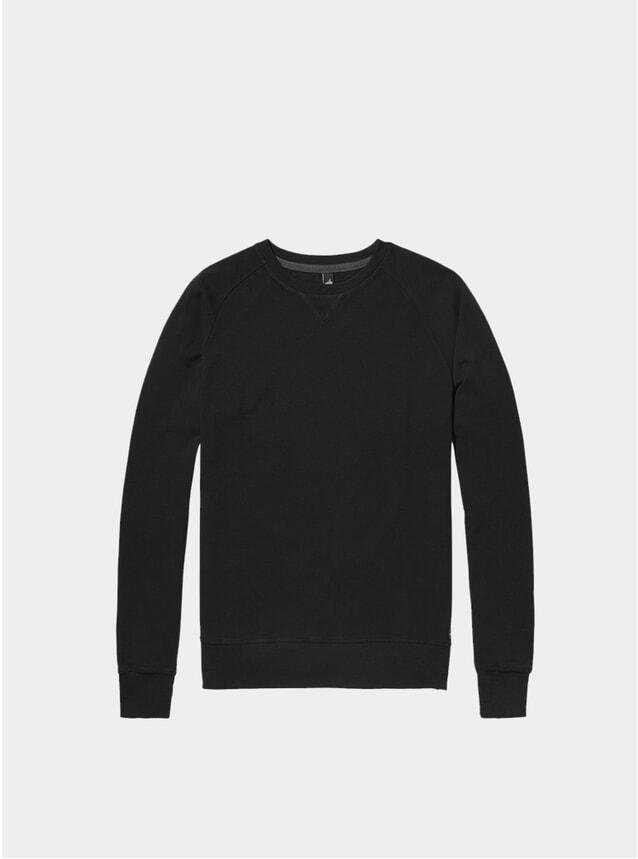 Black Rowe Pique Sweater