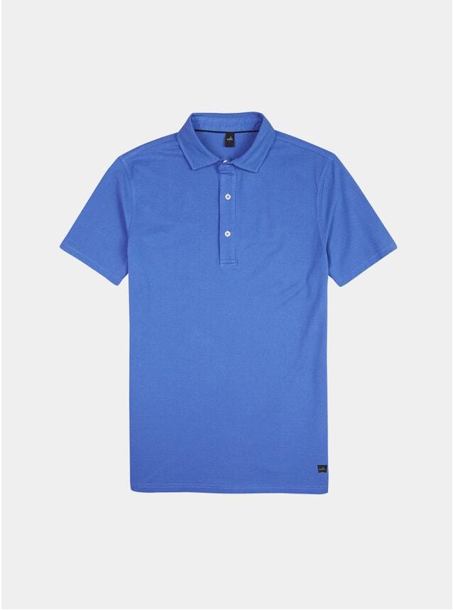 Bright Blue Davis Polo