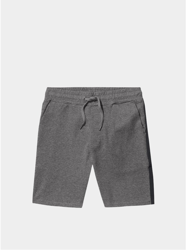 Grey Ross Luxury Sweatshorts