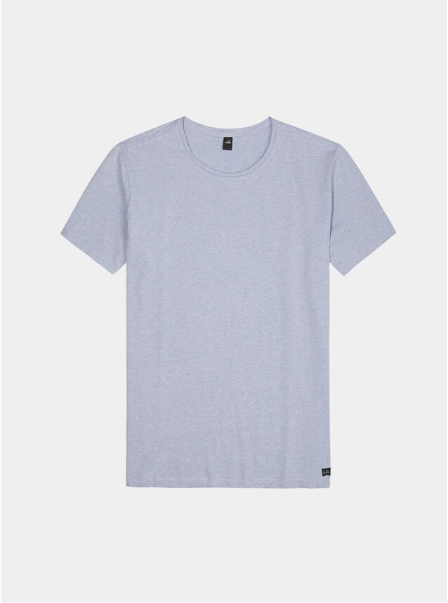 Light Marl Blue Woods T Shirt