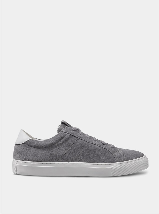 Mid Grey Cartes Sneakers