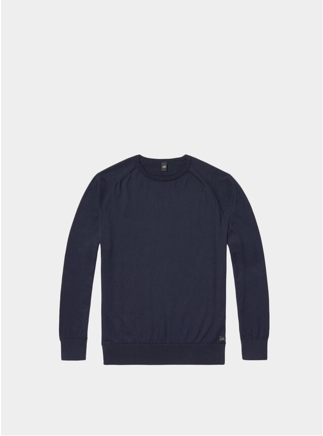 Navy Cross Egyptian Cotton Pullover