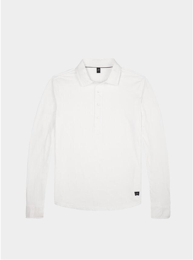 White Stone Tailored Polo Shirt