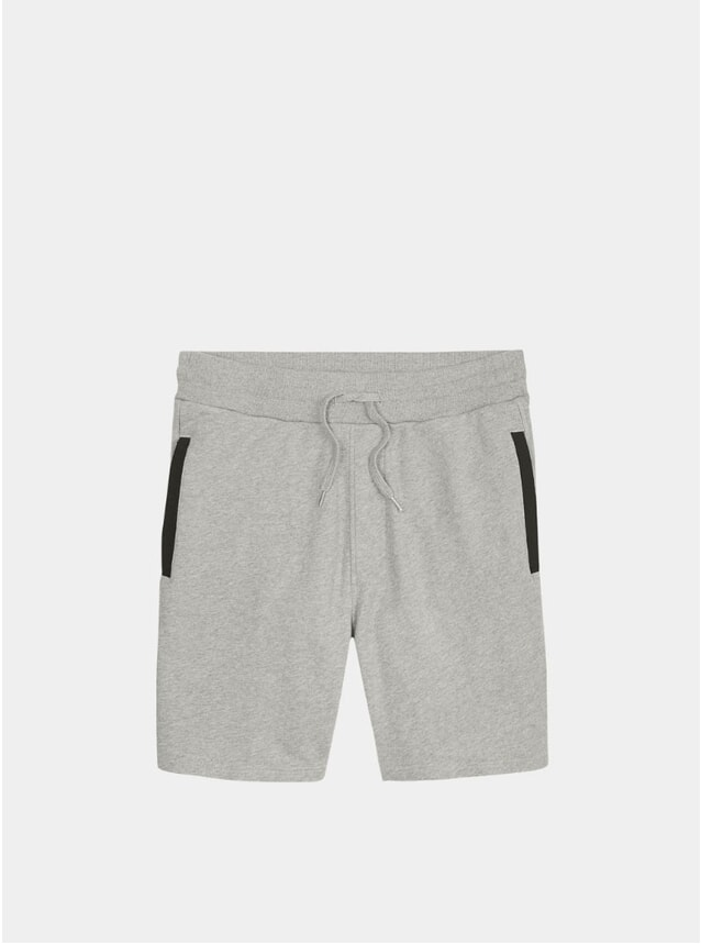 Light Grey Troy Sweatshorts