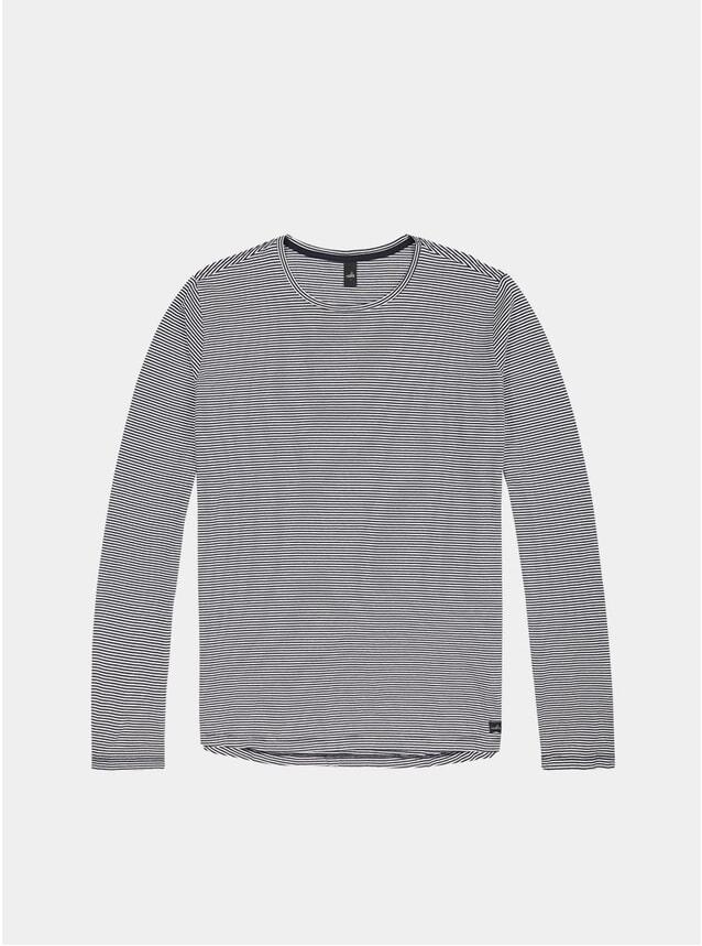 Navy / Blue Stripe Olson LS T Shirt