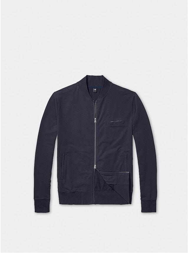 Night Blue James Bomber Jacket