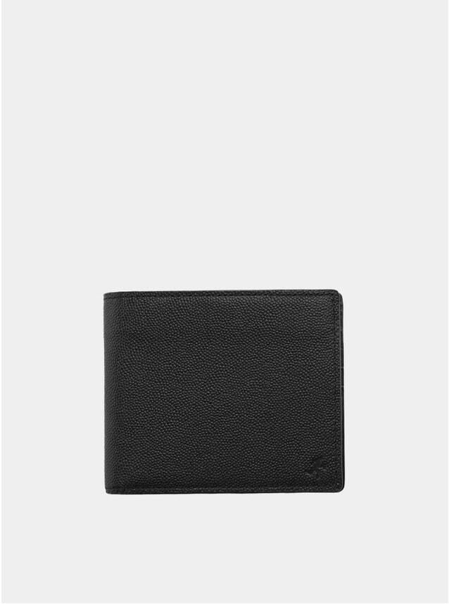 Black Benin Bi-Fold Wallet