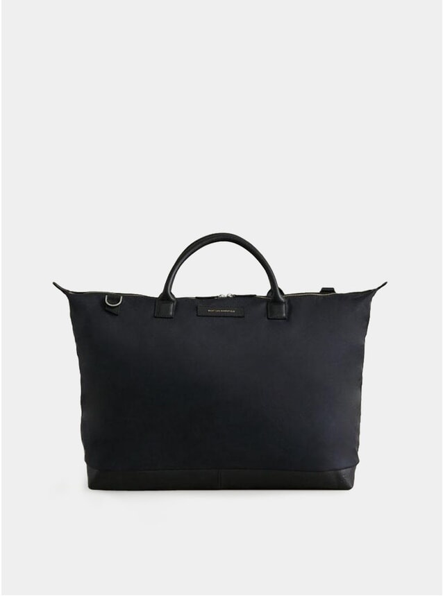 Black / Black Nylon Hartsfield Weekender Tote