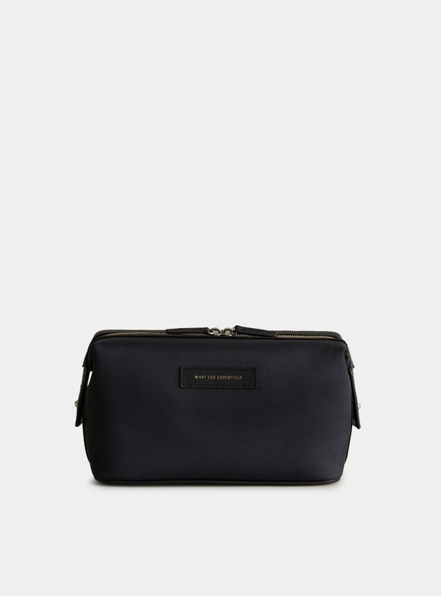 Black Nylon / Black Kenyatta Dopp Kit