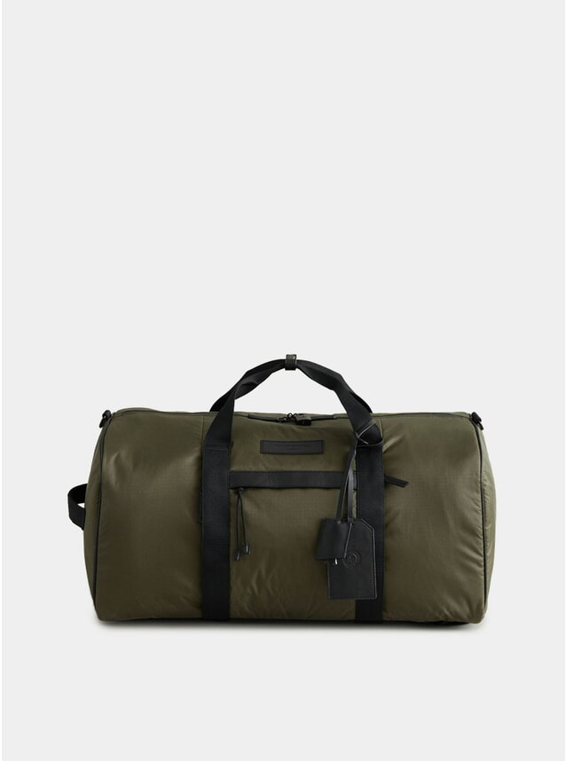 Hiking Green / Black Stanfield Econyl Convertible Sport Holdall
