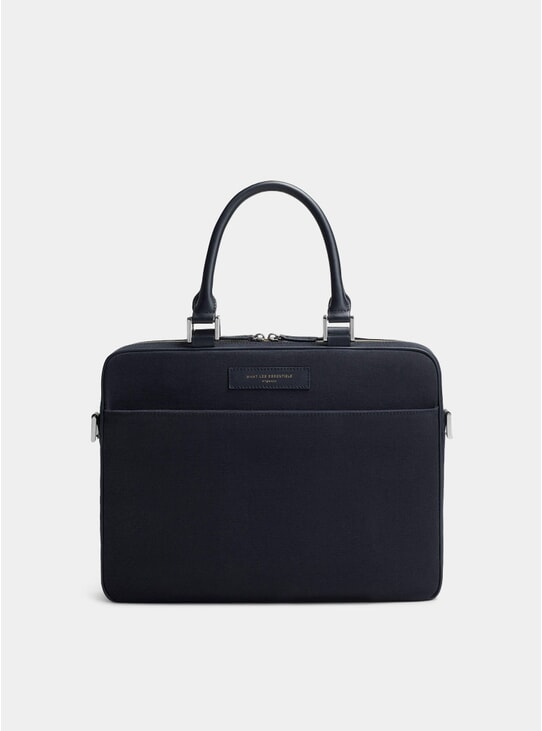 Navy / Navy Haneda Computer Bag