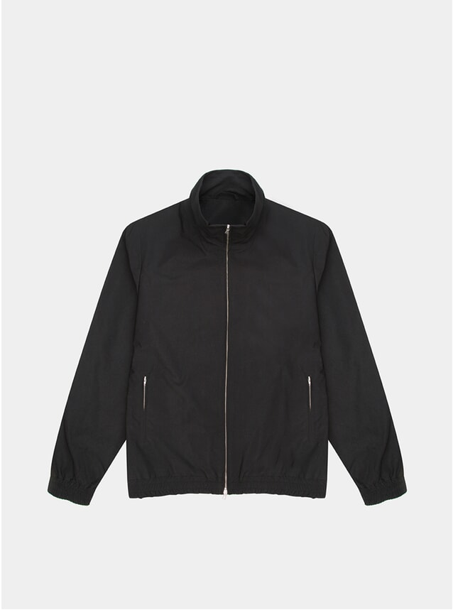 Black Ripstop Miro Track Top