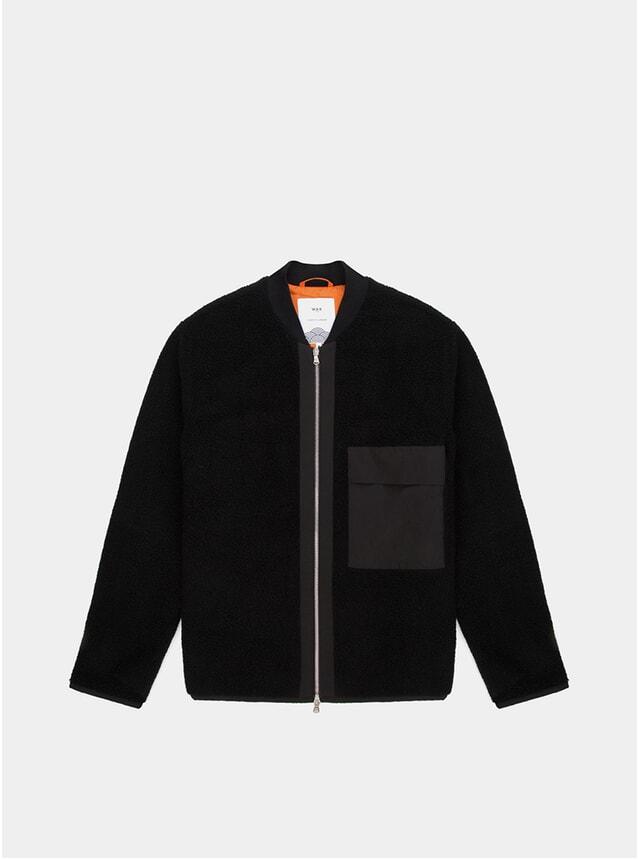 Black Teddy Fjallen Bomber Jacket