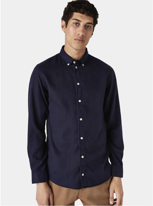 Deep Navy Bampton Shirt