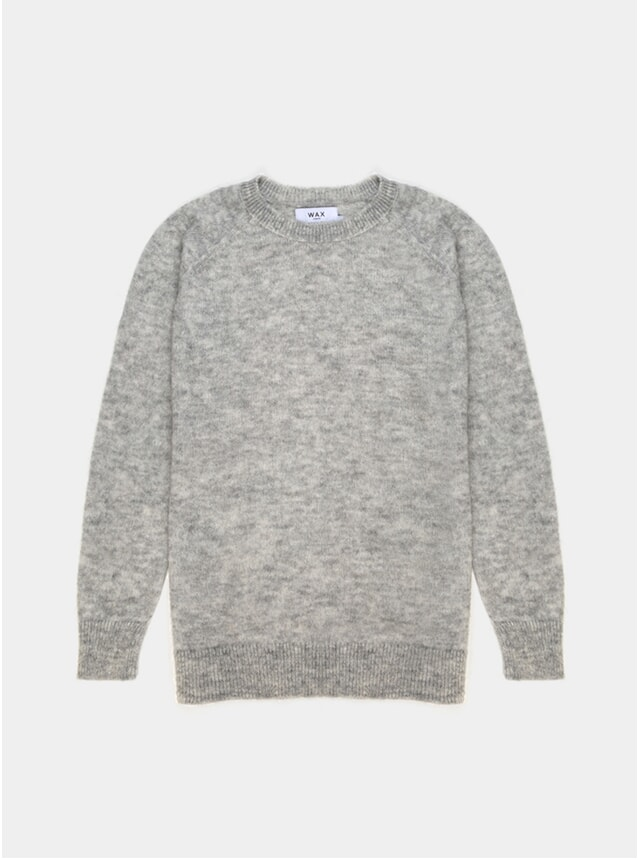 Grey Alp Knitted Jumper