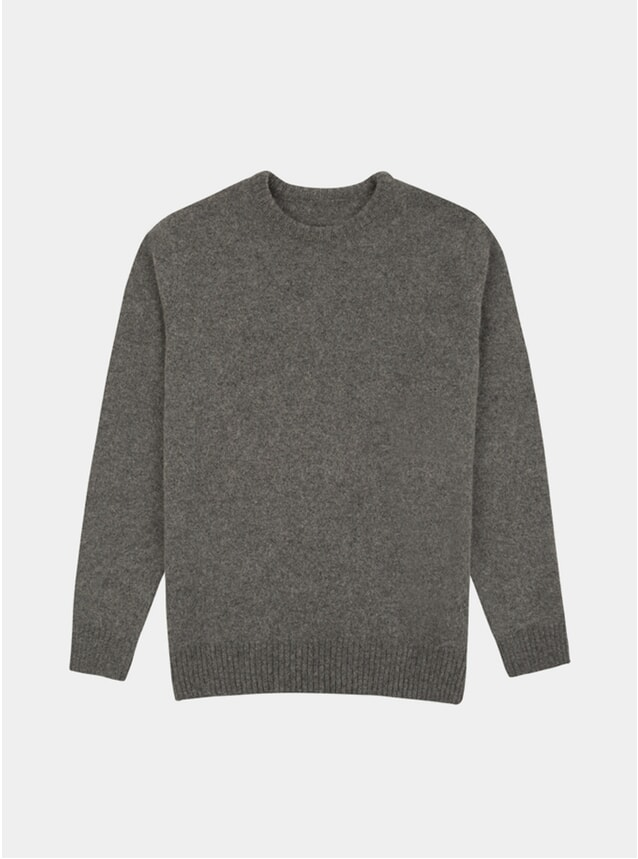 Light Grey Cotswold Knitted Jumper