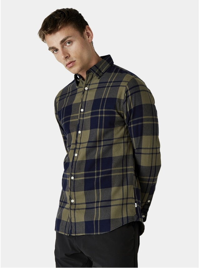 Moss Check Kramer Shirt