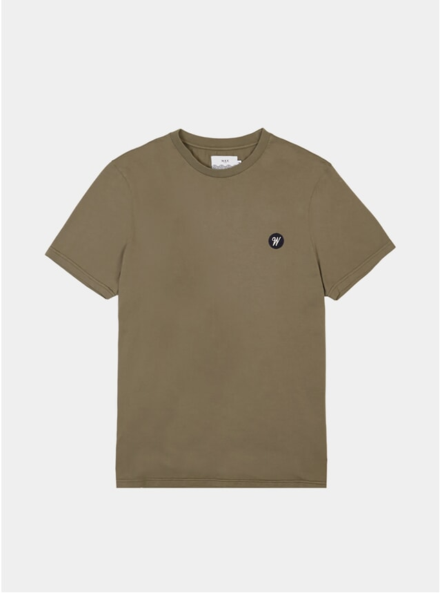 Moss Stone Reid Badge T-Shirt