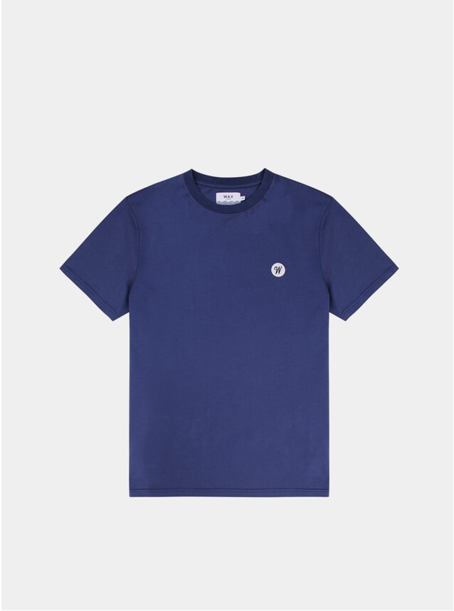 Navy Reid Badge T Shirt