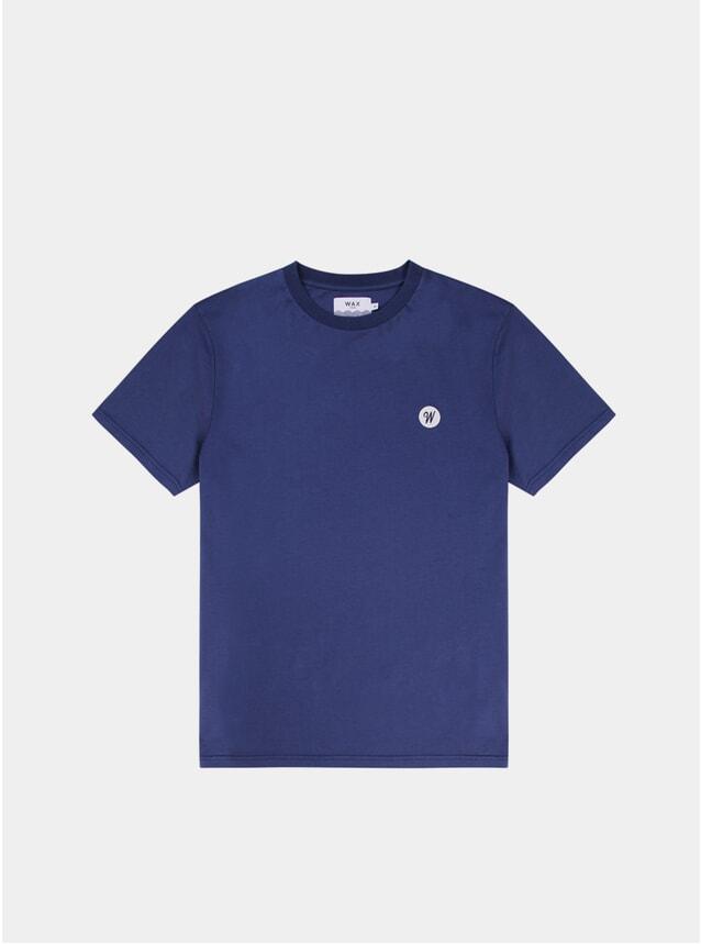Navy Reid Badge T Shirt