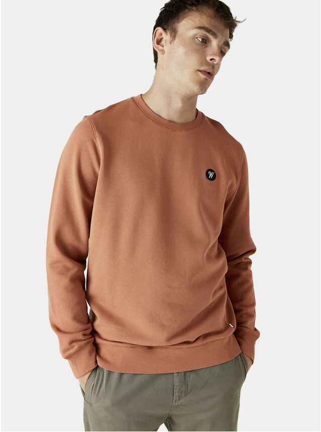 Painters Ochre Lind Badge Sweatshirt