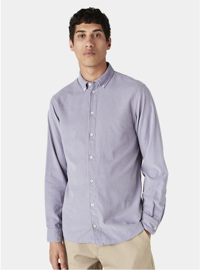 Purple Ash Cord Bampton Shirt
