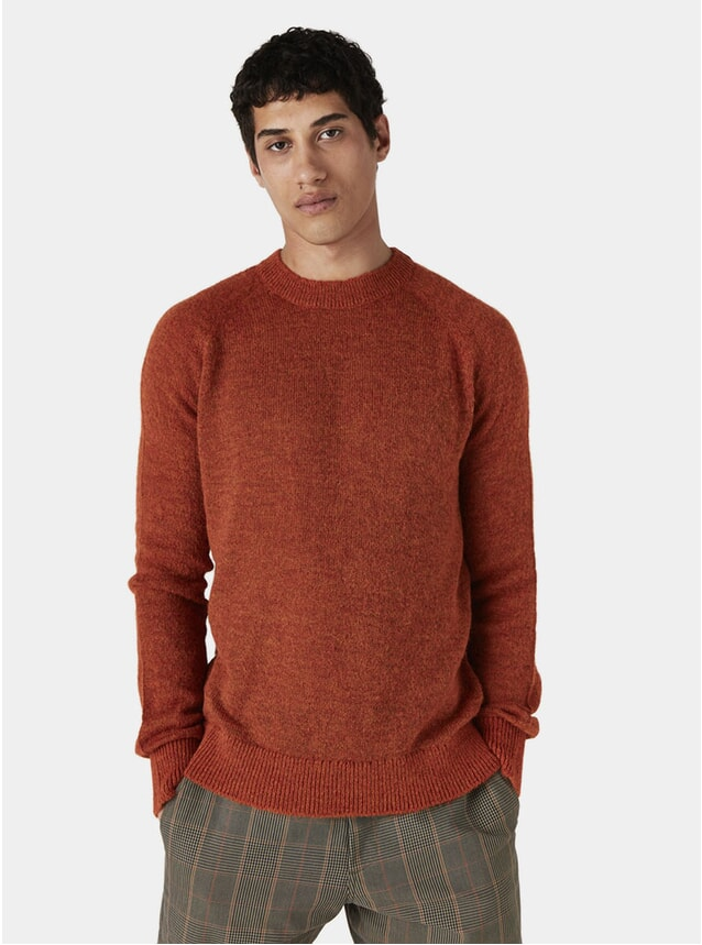 Rothko Orange Alp Knitted Jumper