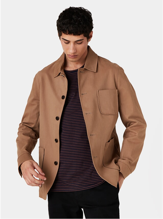 Sand Cotton Elland Jacket