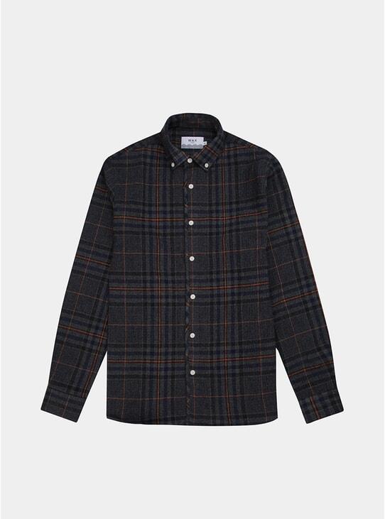 Seersucker Check Bampton Shirt