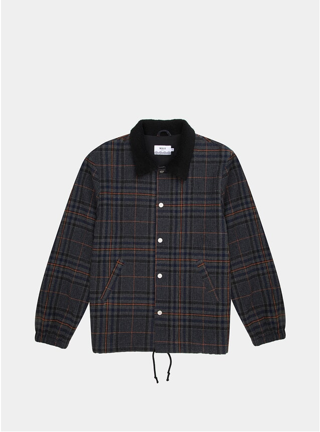 Seersucker Check Barlet Jacket