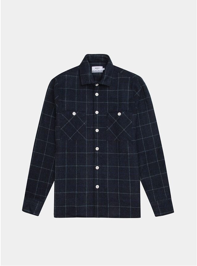 Shetland Check Whiting Shirt