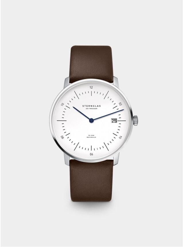 White / Brown Naos Watch