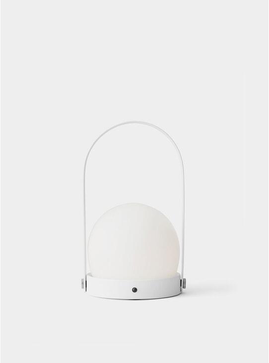 White Carrie LED Lamp