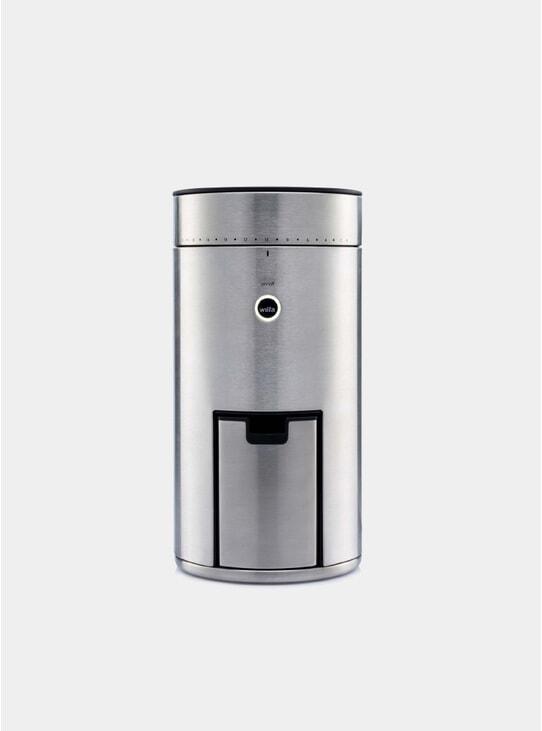 Silver Uniform+ Coffee Grinder