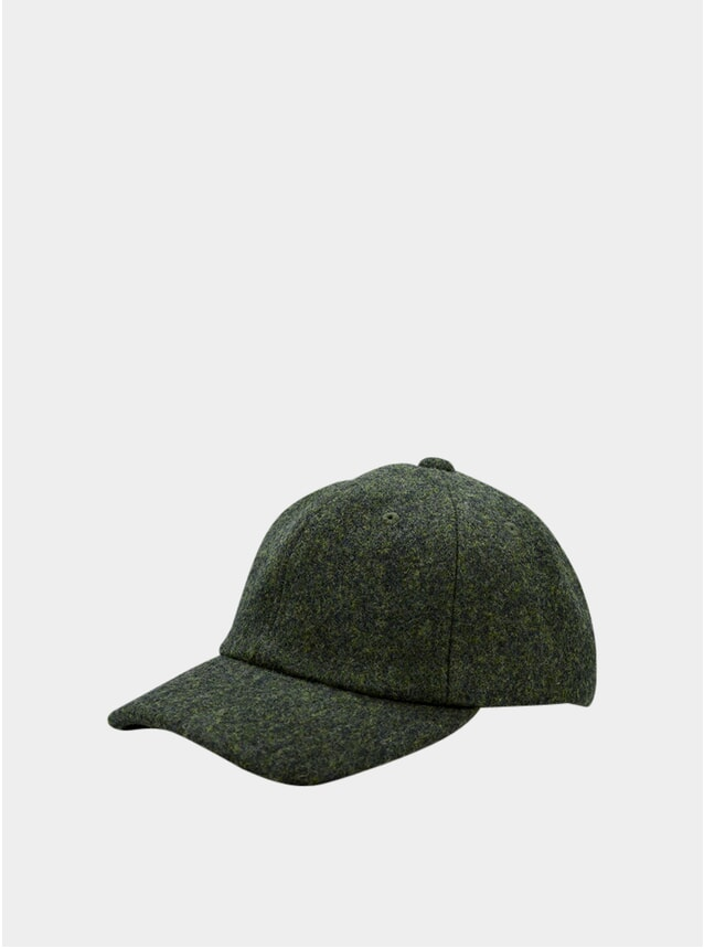 Forest Wool Cap