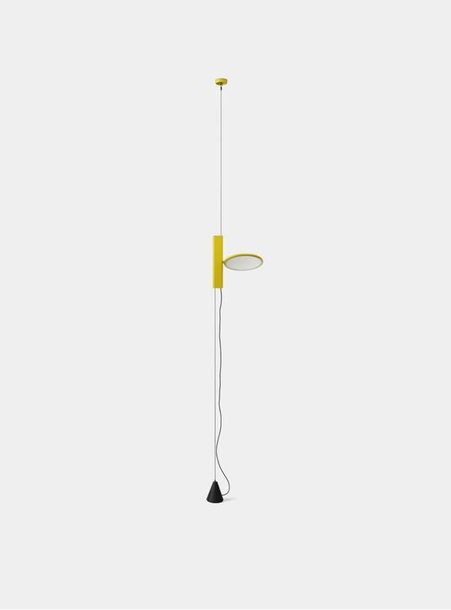 Yellow OK Pendant Light
