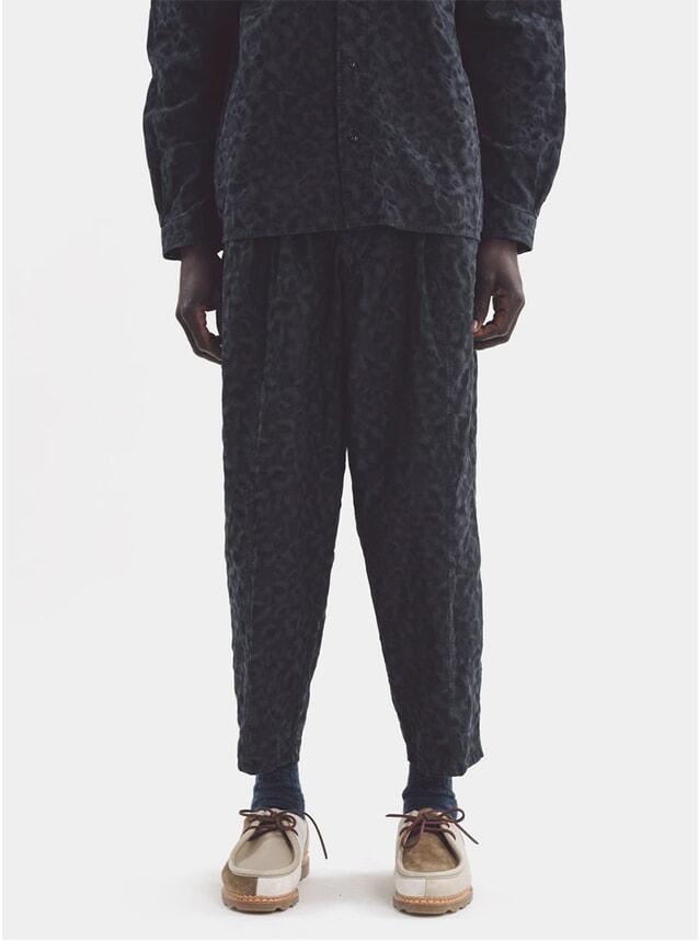 Black Sylvian Pants